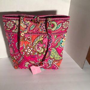 Vera Bradley Bags - NWT Vera Bradley Pink Swirls Tote Bag